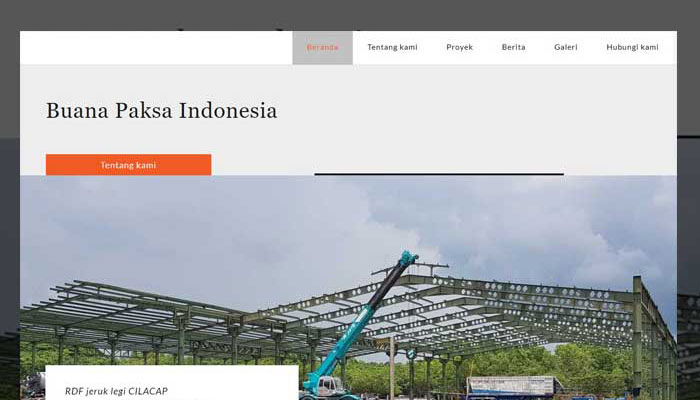 Jasa Website Kapuas