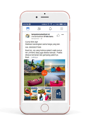Facebook Instagram Ads Interaksi