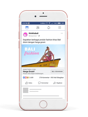 Facebook Instagram Ads Kunjungi Website