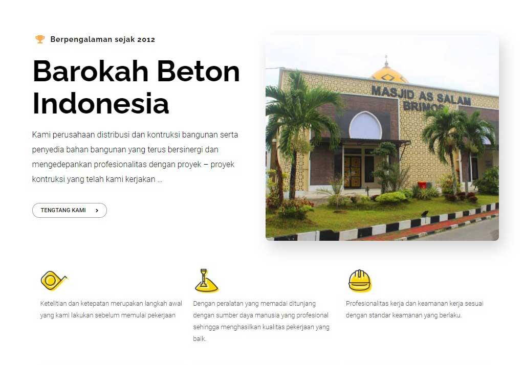 CV Barokah Beton Indonesia