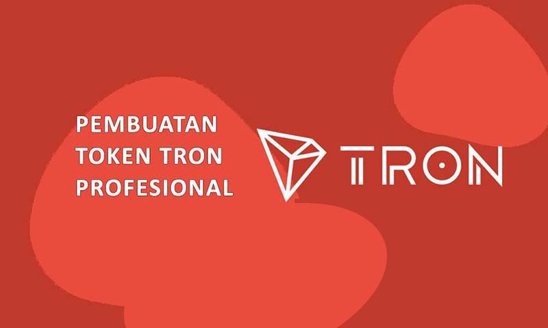 Jasa Pembuatan Website Token TRC20 Tron Terbaik Murah